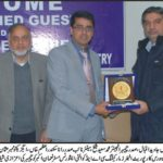 Visit of MR Numan Akbar General Marketing & HR of KPK Oil and Gas Company At FCCI