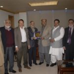 Visit of Qamar Atta Bajwa Senior Vice President of FPCCI  at FCCI