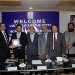 Visit of Minister & Chairman Board Of Investment Dr Miftah Ismail Sb at FCCI