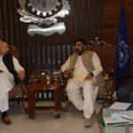 Meeting with Governor Punjab Ch Muhammad Sarwar at FCCI